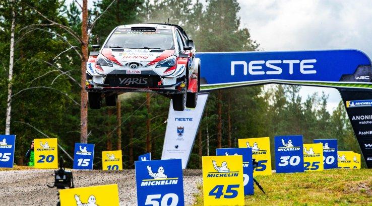 Esimesed murepilved Soome WRC ralli kohal