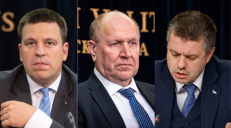 OTSEPILT | Peaminister Ratas räägib riigikogu ees maksudogmadest, siseminister Helme annab aru sisejulgeoleku ja süvariigi teemadel