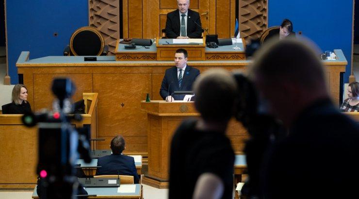 BLOGI, FOTOD ja VIDEO | Riigikogu andis Jüri Ratasele valitsuse moodustamiseks rohelise tule