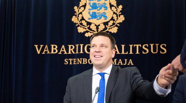 OTSEPILT ja -BLOGI | Valitsuse pressikonverentsil osalevad Jüri Ratas, Mart Helme, Raivo Aeg ja Rene Kokk
