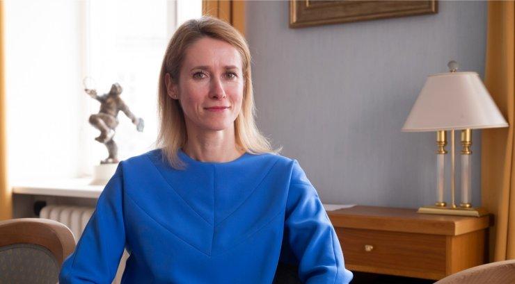 Kallas teeb reedel oma esimese välisvisiidi peaministrina
