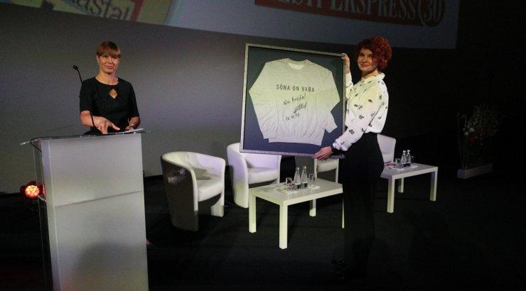 OTSEPILT | Kersti Kaljulaid ajakirjanduskonverentsil: seda, kui vaba on sõna, mõjutavad meediamajade otsused