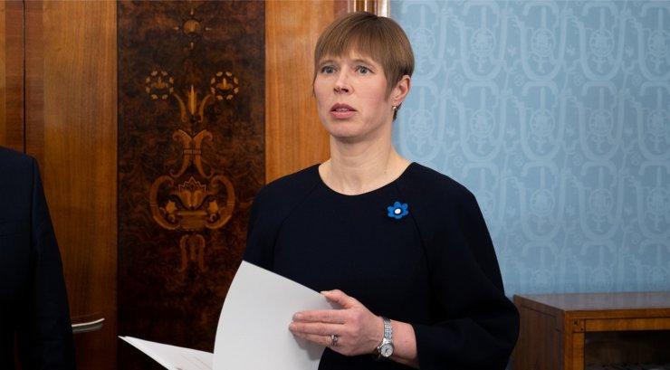 Presidendi ja riigikogu vaidlus jõuab oktoobris kohtusse
