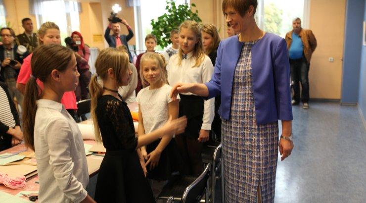 President Kersti Kaljulaid tänasest reedeni Kagu-Eestis