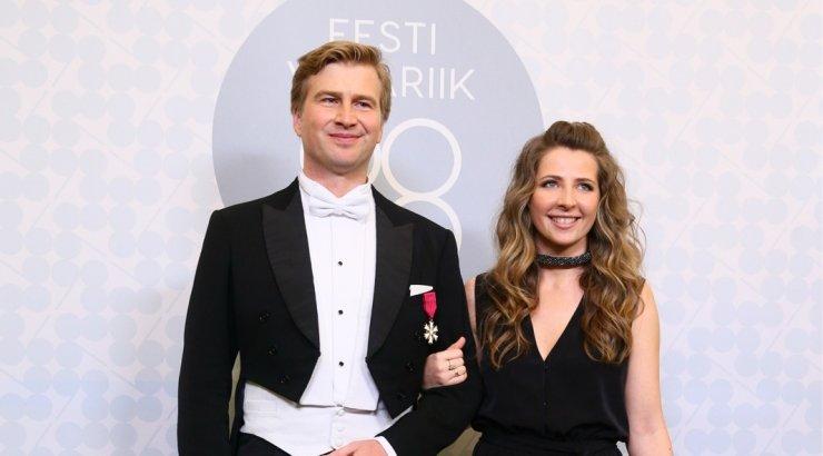 Palju õnne! Eesti rikkaim mees Kristo Käärmann ja Kriss Soonik-Käärmann said poja