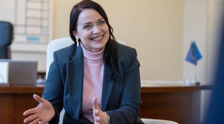 Sporti väärtustav kultuuriminister Anneli Ott: tippsport on riigi asi! Kehalise kasvatuse tund peaks olema iga päev