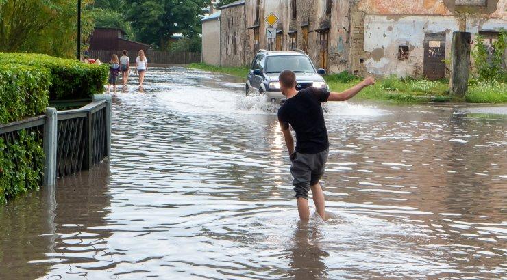 Eilne uputus Kuressaares suuri kahjustusi ei tekitanud