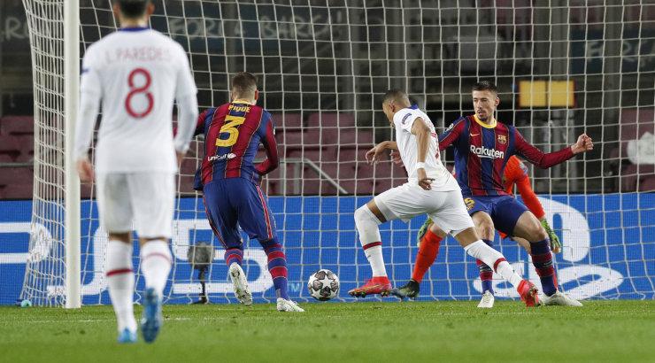 OTSEBLOGI   Meistrite liiga play-off: PSG nahutab võõrsil Barcelonat, Liverpool liigub samuti võidu suunas