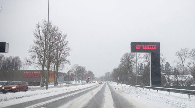 Pärnu maanteel Laagris algab jälle ummikute periood