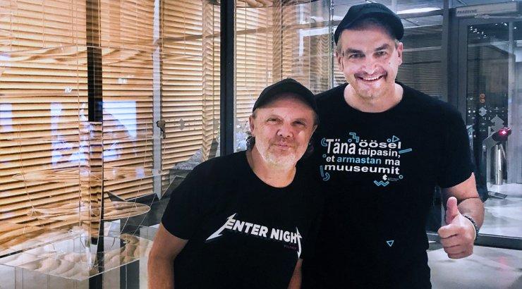 ERMi töötajad Metallica kontserdist: muuseum õnneks kahjustada ei saanud. Loodame, et saame üritusest ka ise kasu