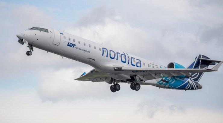 Nordica lend Tallinnast Odessasse pidi tuule tõttu maanduma Moldovas