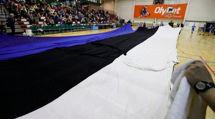 258eeab9a1f FOTOD ja VIDEO: Vaata, milline näeb välja maailma suurim Eesti lipp - Sport