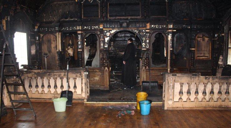 Narva-Jõesuu kiriku põlengus kahjustada saanud väärtuslikust kunstivara on suures ulatuses võimalik restaureerida