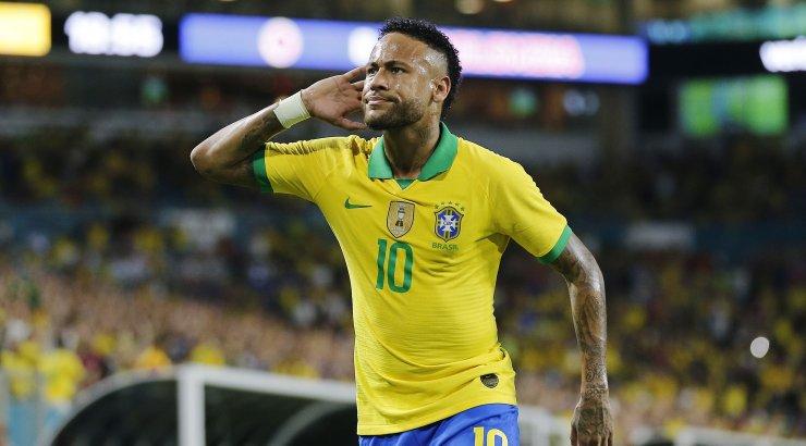 VIDEO | Neymar lõi tagasitulekumängus värava, kuid Brasiilia piirdus viigiga
