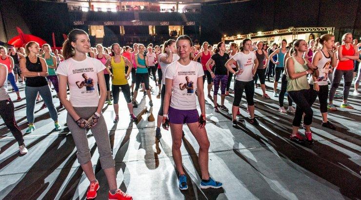 FOTOD:  Sport teeb ilusaks! Nike treeningpäev tõi kokku seksikad tervisesportlased