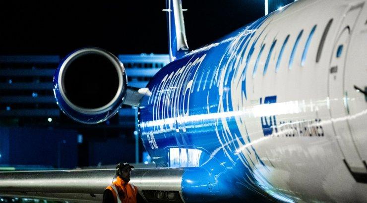 В Шереметьево самолет выкатился за пределы взлетной полосы