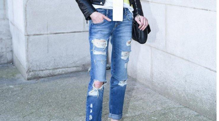 373f39929e0 TEE ISE: kujunda vanadest teksadest stiilselt lõhkised püksid - Anne ja  Stiil