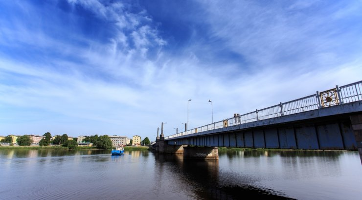 Pärnu Kesklinna sild sel ja järgmisel nädalavahetusel suletud