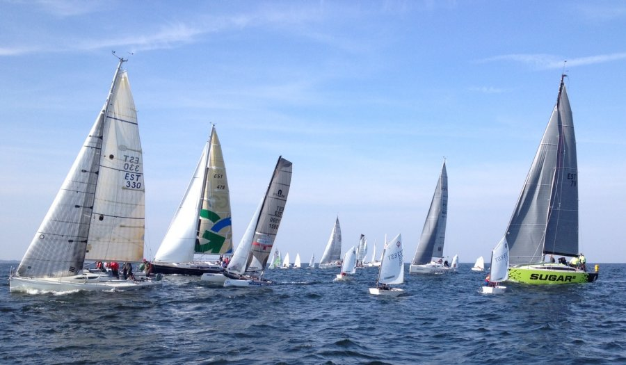 4b828ff56c9 FOTOD: Eesti purjetajad osalesid Guinnessi rekordi püstitamisel - Sport