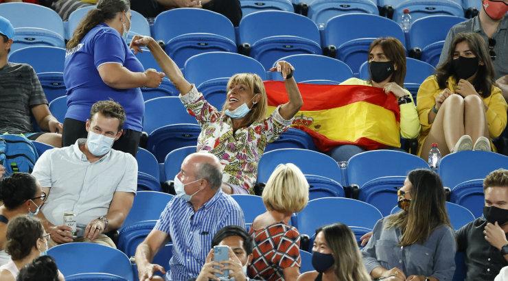 VIDEO | Rafael Nadal tribüünil lärmanud naisest: vahest oli ta liiga palju joonud tequilat või džinni?