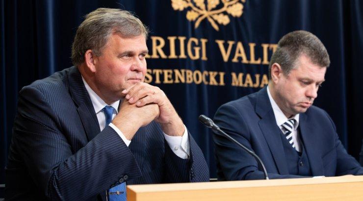 Raivo Aeg ja Urmas Reinsalu kinnitavad, et olid Martin Helme plaanidega kursis