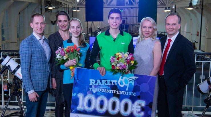 """""""Rakett 69"""" Teadusvõistluse Võitis Tiago Golub"""