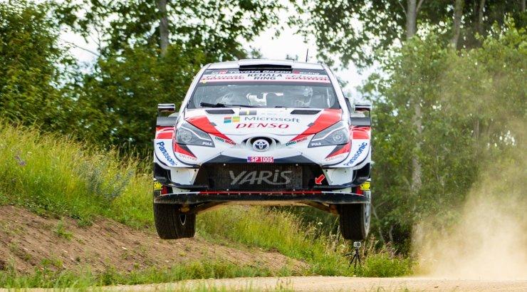 OTSEBLOGI JA FOTOD   WRC ässad eesotsas Tänaku ja Märtiniga pakuvad Rally Estonia testikatsel vingeid õhulende