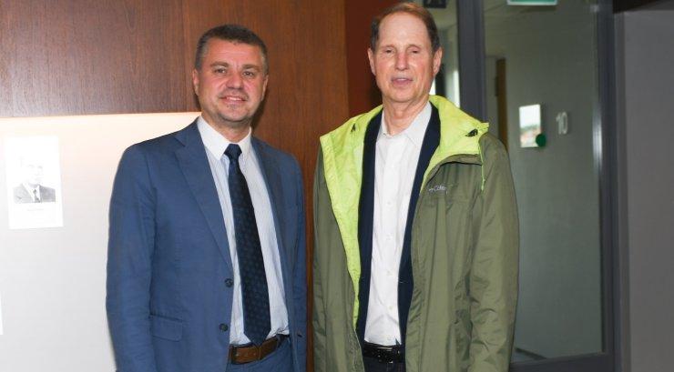 Välisminister Urmas Reinsalu kohtus Ameerika senaator Ron Wydeniga