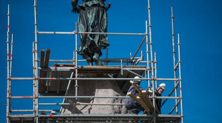 Russalka monument läks remonti
