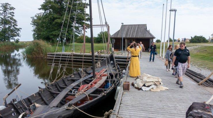 FOTOD | Salme viikingiturule tulnud huviline satub ehtsasse viikingiellu