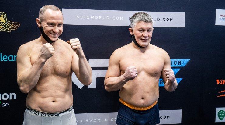 Емельяненко нокаутировал Кокляева в первом раунде боксерского поединка