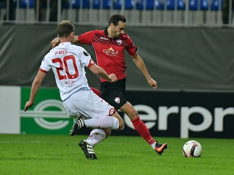 23f066a27f9 VIDEO: Sergei Zenjov lõi Euroopa liigas värava, kuid Gabala sai ...