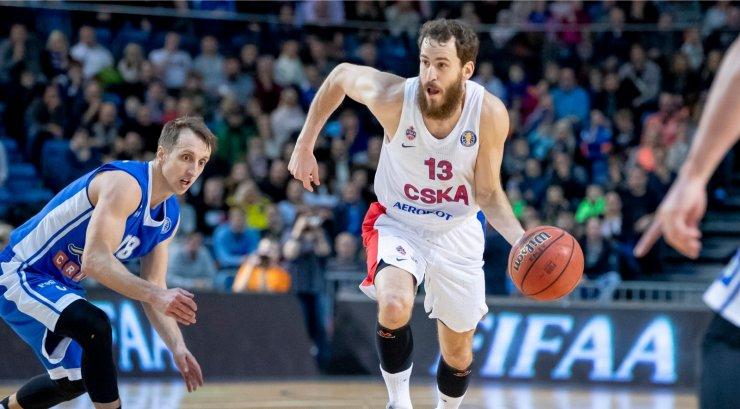 Moskva CSKA korvpallitäht siirdus Milano Olimpiasse