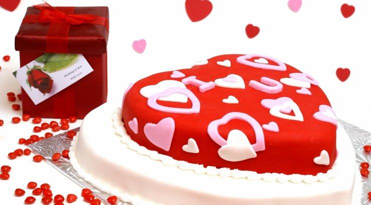 Красивые слова на торт фото на день святого валентина