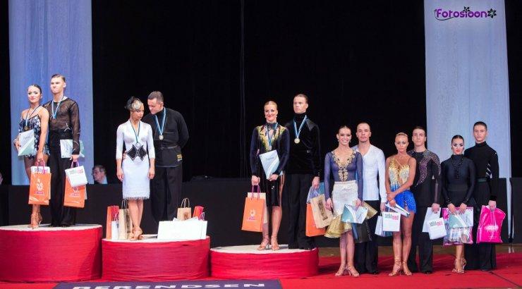 Selgusid Eesti meistrid Ladina-Ameerika tantsudes