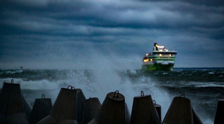 Ilmateenistus andis saartele teise taseme tormihoiatuse