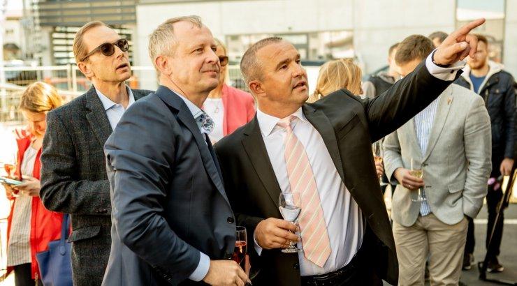 eeae5830936 FOTOD | Tarmo Laanetu äriimpeerium laieneb Veerennis. Eesti suurim  erameditsiinikeskus sai nurgakivi