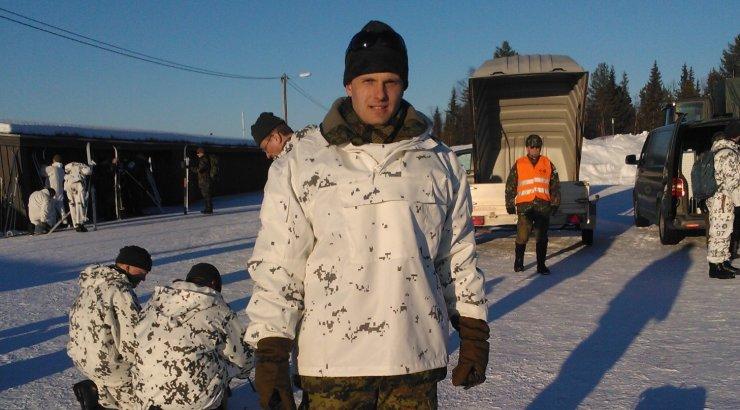 Eestlane sai Soomes militaarvõistlusel Arctic Mil 2013 laskmises esikoha