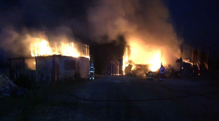 Päästeamet soovitab Saue valla elanikel tulekahju tõttu aknad ja uksed sulgeda