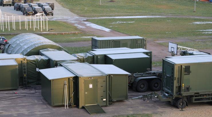 Kaitseväe välihaigla alustab Saaremaal tööd neljapäeval