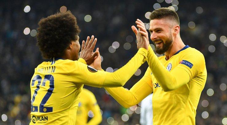 Chelsea lõi eurosarjas Kiievi Dünamole viis väravat, Napoli pääses ehmatusega