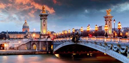 Lennupiletid Pariisi ja CroisiEurope jõekruiis