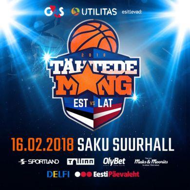 Tähtede Mäng 2018  Eesti vs Läti
