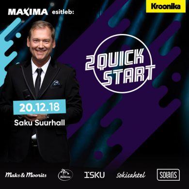 2 Quick Start 25 aasta suurim kontsert