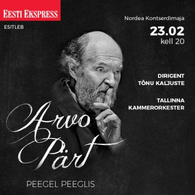 """Arvo Pärdi kontsert """"Peegel peeglis"""""""