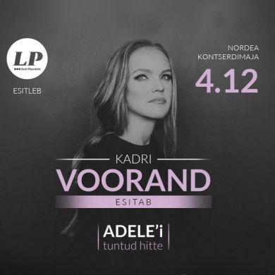 Kadri Voorand esitab Adele'i hitte