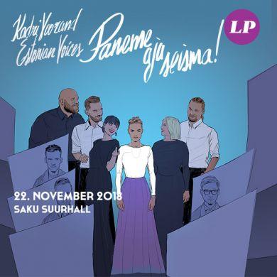 "Kadri Voorand & Estonian Voices ""Paneme aja seisma"""