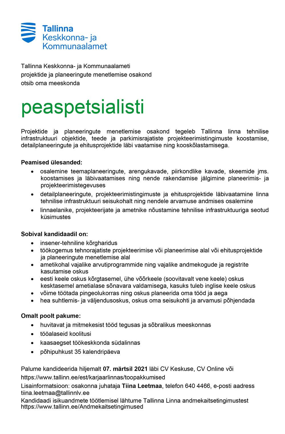 PEASPETSIALIST