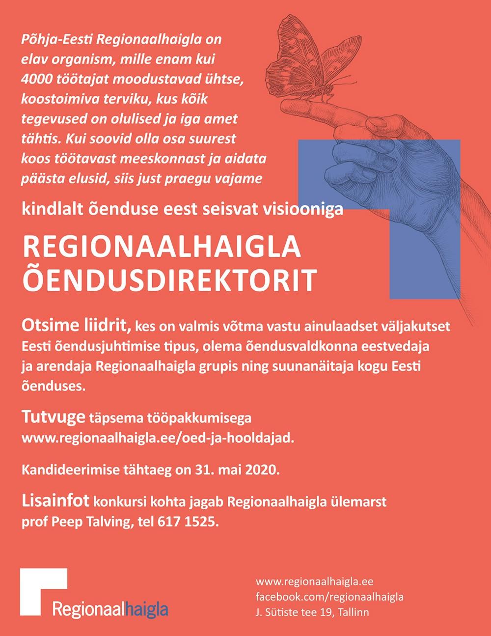 Regionaalhaigla õendusdirektor