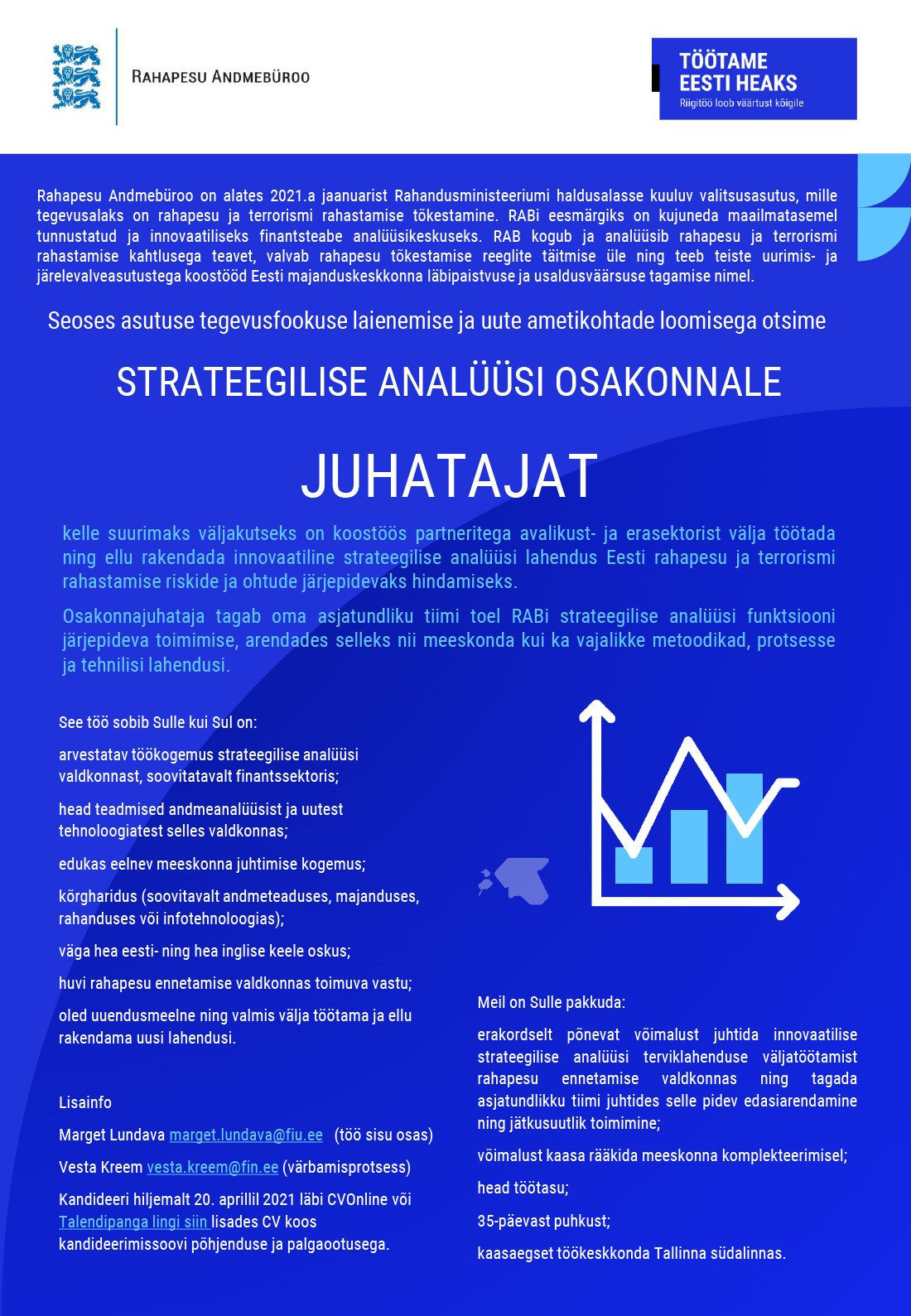 Strateegilise analüüsi osakonna juhataja
